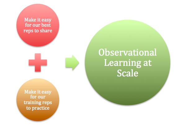 The sales learning cycle