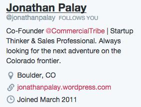 A well-designed team member bio